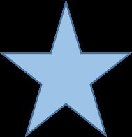 sterblauw
